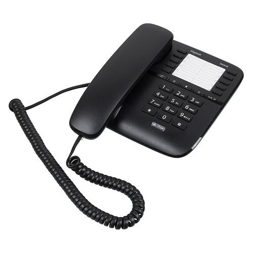 цена на Проводной телефон GIGASET DA510, черный
