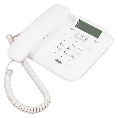 Проводной телефон GIGASET DA610 RUS, белый телефон gigaset da610 черный