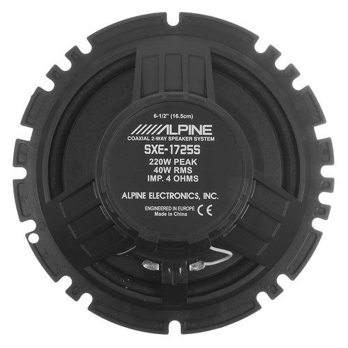 Колонки автомобильные ALPINE SXE-1725S, 16.5 см (6 1/2 дюйм.), комплект 2 шт.