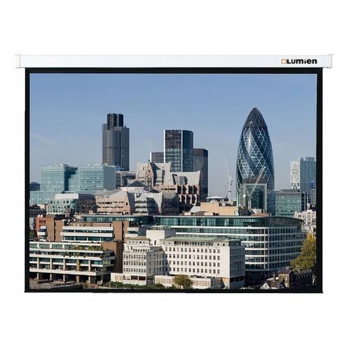 Экран LUMIEN Master Control LMC-100106, 305х305 см, 1:1, настенно-потолочный экран настенный lumien 203x203см master control lmc 100103 1 1 рулонный