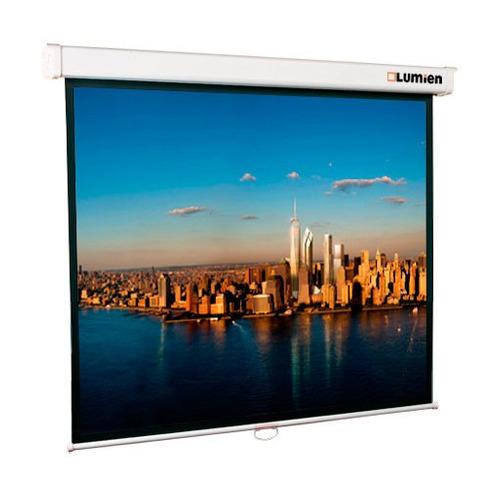 Фото - Экран LUMIEN Master Picture LMP-100101, 127х127 см, 1:1, настенно-потолочный экран lumien master picture lmp 100109 203х153 см 4 3 настенно потолочный
