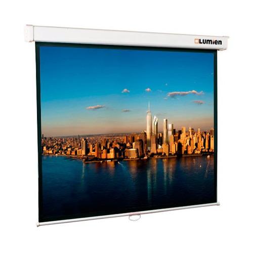 Фото - Экран LUMIEN Master Picture LMP-100102, 153х153 см, 1:1, настенно-потолочный экран lumien master picture lmp 100109 203х153 см 4 3 настенно потолочный