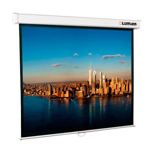 Фото - Экран LUMIEN Master Picture LMP-100104, 203х203 см, 1:1, настенно-потолочный экран lumien master picture lmp 100109 203х153 см 4 3 настенно потолочный