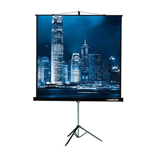 Экран Lumien Master View LMV-100101, 127х127 см, 1:1, напольный