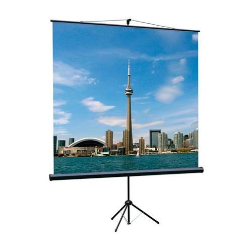 Фото - Экран LUMIEN Eco View LEV-100105, 160х160 см, 1:1, напольный экран для проектора lumien eco view 180x180 lev 100102