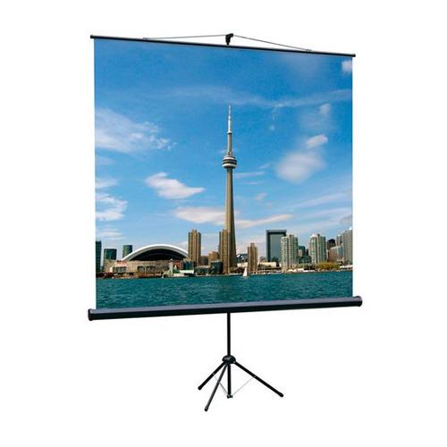 цена Экран LUMIEN Eco View LEV-100102, 180х180 см, 1:1, напольный онлайн в 2017 году