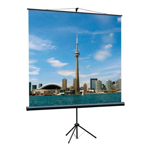 Фото - Экран LUMIEN Eco View LEV-100103, 200х200 см, 1:1, напольный экран для проектора lumien eco view 180x180 lev 100102
