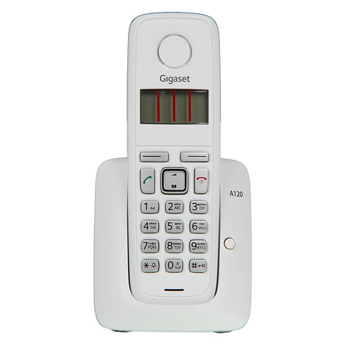 Радиотелефон GIGASET A120, белый [a120 white] радиотелефон