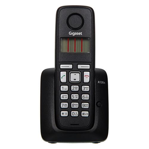 Радиотелефон GIGASET A120A, черный радиотелефон