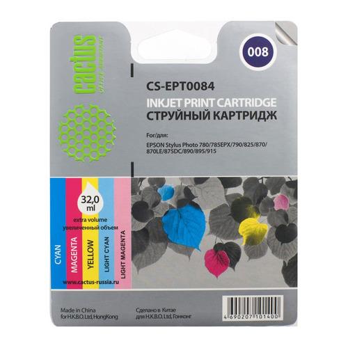 цена на Картридж CACTUS CS-EPT0084, многоцветный