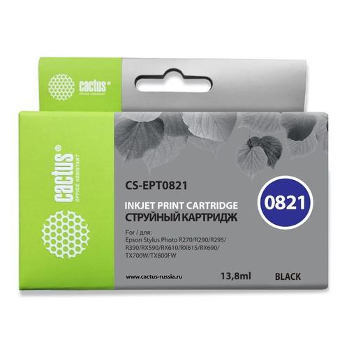 цена на Картридж CACTUS CS-EPT0821, черный