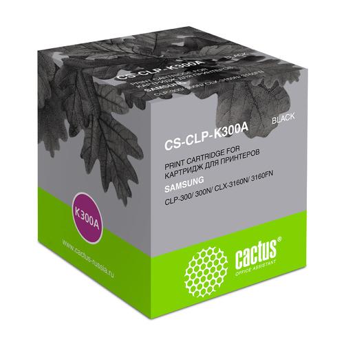 Картридж Cactus CS-CLP-K300A, черный / CS-CLP-K300A