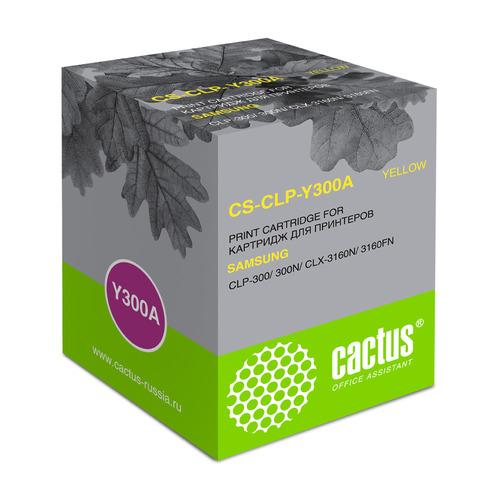 Картридж Cactus CS-CLP-Y300A, желтый / CS-CLP-Y300A