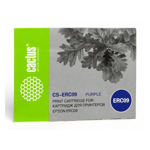 Картридж CACTUS CS-ERC09, пурпурный / 4мм, 0.21м картридж cactus cs q6463ar пурпурный