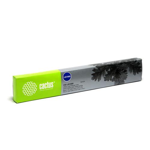 Картридж Cactus CS-LQ1000, черный / 12.7мм, 10м ( CS-LQ1000