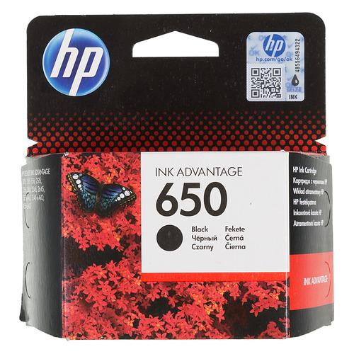 Фото - Картридж HP 650, черный [cz101ae] картридж hp cz102ae 650 цветной dj ia 2615 200стр