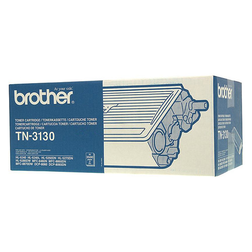 Картридж BROTHER TN3130 черный original for brother hl5240 fuser unit for brother dcp8060 8065 mfc8460 8660 8670 8860 8870 fixing unit fuser assembly