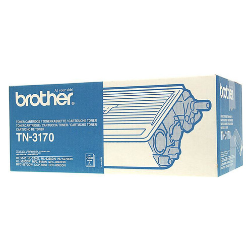 Картридж BROTHER TN3170 черный original for brother hl5240 fuser unit for brother dcp8060 8065 mfc8460 8660 8670 8860 8870 fixing unit fuser assembly