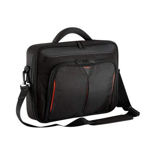 Сумка для ноутбука 14.1 TARGUS CN414EU, черный/красный [cn414eu-50]
