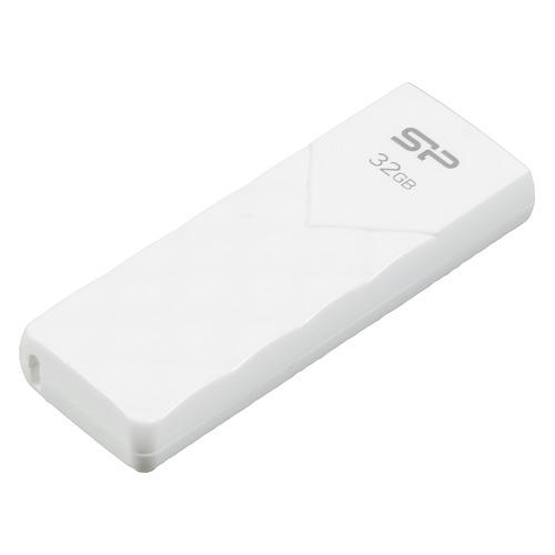 Фото - Флешка USB SILICON POWER Ultima U03 32Гб, USB2.0, белый [sp032gbuf2u03v1w] флешка usb 8gb silicon power lux mini series 320 sp008gbuf2320v1w белый