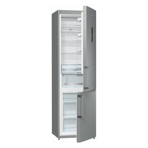 цена Холодильник GORENJE NRK6201MX, двухкамерный, серебристый онлайн в 2017 году