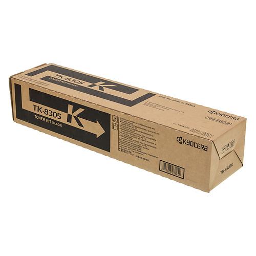 Картридж KYOCERA 1T02LK0NL0, черный [tk-8305k] картридж kyocera tk 7205 для kyocera taskalfa 3510i черный