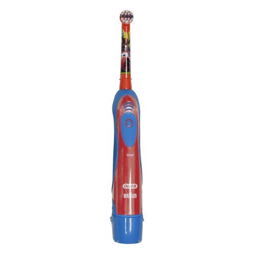 Электрическая зубная щетка ORAL-B детская CARS/Princess на батарейках DB4 красный [84850536/80250540] цена 2017