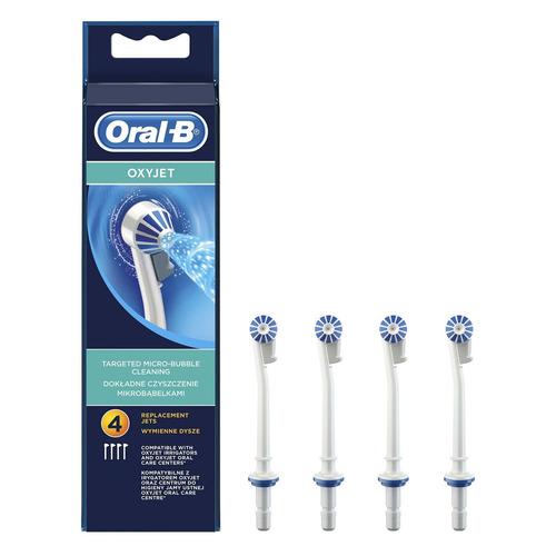 Сменные насадки для ирригатора ORAL-B Oxyjet 4 шт [63719734] насадки oral b 3d white 2 шт oral b