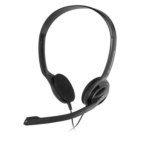 лучшая цена Гарнитура SENNHEISER PC 36 Call Control, 504523, для контактных центров, накладные, черный