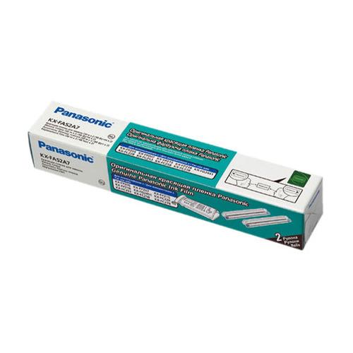 Термопленки для факсов PANASONIC KX-FA52A, 2 шт [kx-fa52a7] panasonic термолента для факсов kx fa52a совместимая