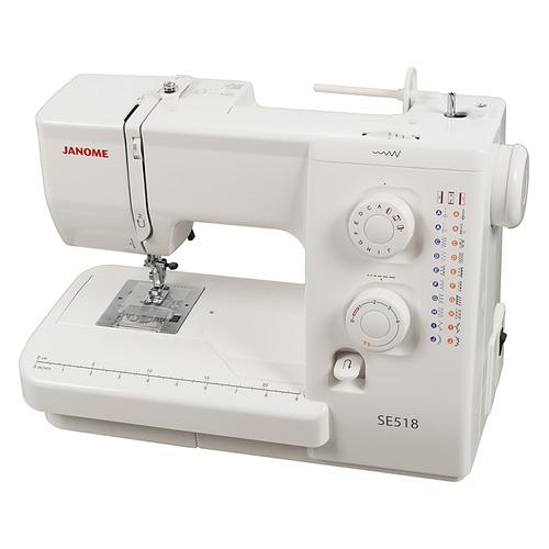 лучшая цена Швейная машина JANOME SE 518 белый