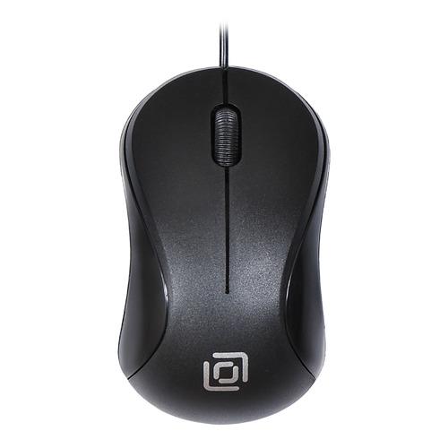 цена на Мышь OKLICK 115S, оптическая, проводная, USB, черный [m-288]