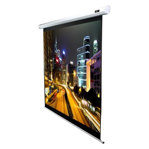 Экран ELITE SCREENS Spectrum Electric100V, 203х152 см, 4:3, настенно-потолочный белый экран elite screens spectrum electric100h 222х125 см 16 9 настенно потолочный черный
