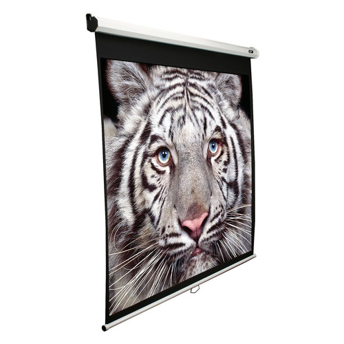 Экран ELITE SCREENS Manual M113NWS1, 203х203 см, 1:1, настенно-потолочный белый экран elite screens spectrum electric100h 222х125 см 16 9 настенно потолочный черный