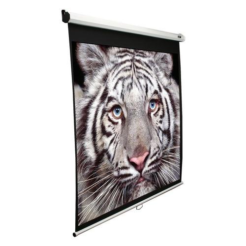 Фото - Экран ELITE SCREENS Manual M99NWS1, 178х178 см, 1:1, настенно-потолочный белый экран elite screens tripod t85uws1 152х152 см 1 1 напольный черный