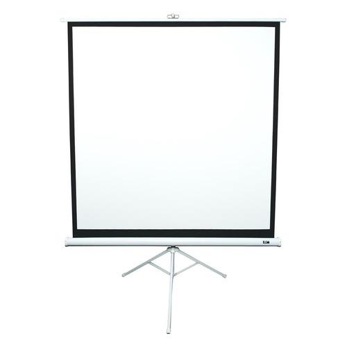 Фото - Экран ELITE SCREENS Tripod T85NWS1, 152х152 см, 1:1, напольный белый экран elite screens tripod t85uws1 152х152 см 1 1 напольный черный