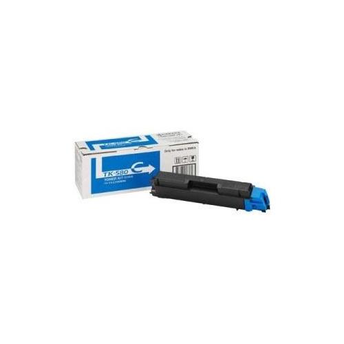 Картридж KYOCERA 1T02KTCNL0, голубой [tk-580c] high quality toner cartridge for kyocera fs c5150dn c5105dn 5205dn 4x set