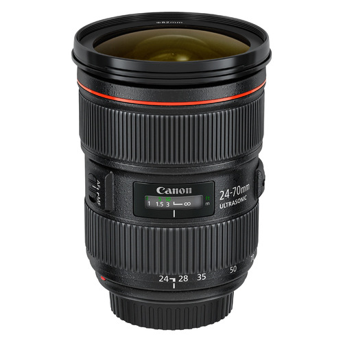 Объектив CANON 24-70mm f/2.8L EF II USM, Canon EF [5175b005] объектив canon ef 70 200mm f 2 8l is iii usm
