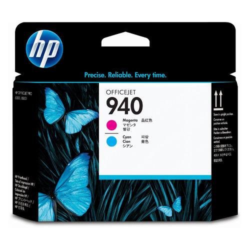 Печатающая головка HP 940 C4901A голубой/пурпурный для HP OJ Pro 8000/8500/8500a печатающая головка hp c4900a 940 для officejet pro 8000 8500 черный и желтый