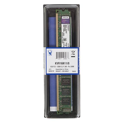 Модуль памяти KINGSTON KVR16N11/8 DDR3 - 8Гб 1600, DIMM, Ret все цены