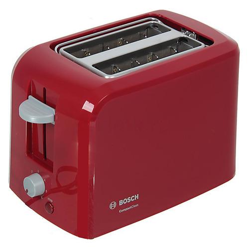 лучшая цена Тостер BOSCH TAT3A014, красный
