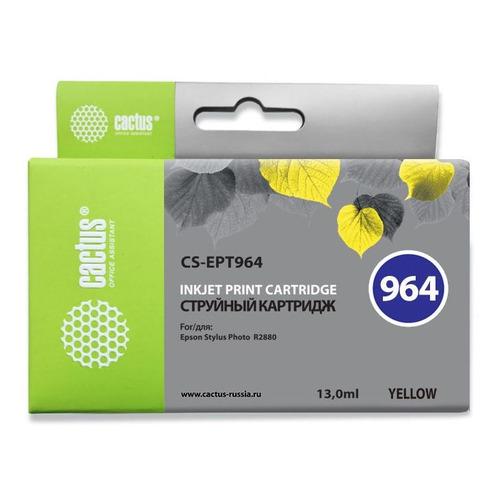 цена на Картридж CACTUS CS-EPT964, желтый