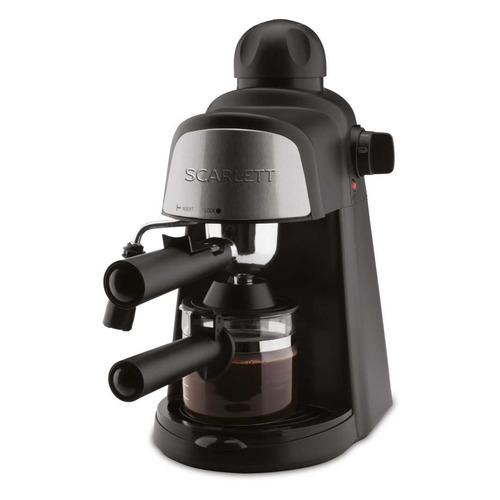 лучшая цена Кофеварка SCARLETT SC-037, эспрессо, черный