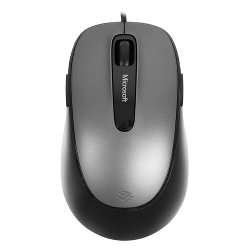 лучшая цена Мышь MICROSOFT Comfort 4500, оптическая, проводная, USB, серый и черный [4fd-00024]