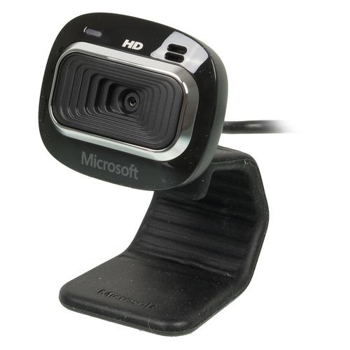 Web-камера MICROSOFT LifeCam HD-3000, черный [t3h-00013] и в шапошников web сервисы microsoft net