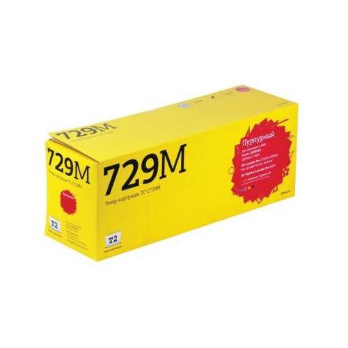 Фото - Картридж T2 TC-C729M, 729M, пурпурный картридж t2 tc hcf403x пурпурный