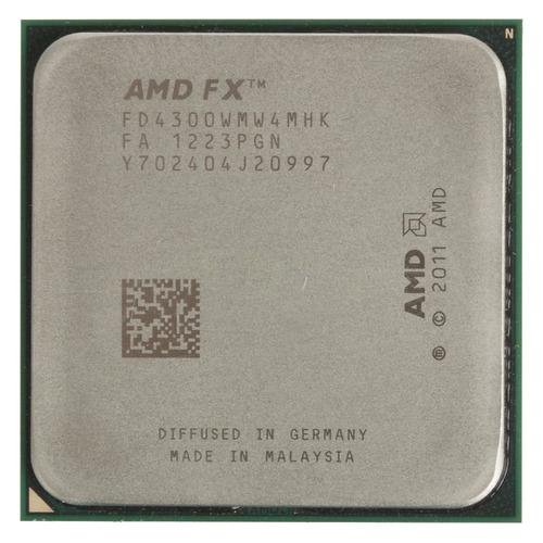 Процессор AMD FX 4300, SocketAM3+, OEM [fd4300wmw4mhk] цена и фото