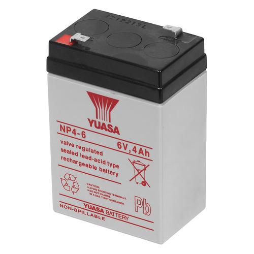 Батарея для ИБП YUASA NP4-6 6В, 4Ач цены онлайн