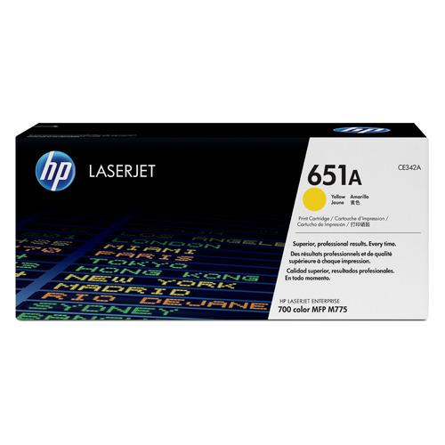Картридж HP 651A, желтый [ce342a]