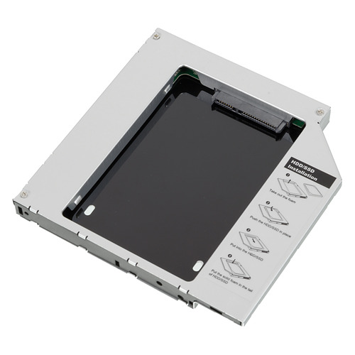 Mobile rack (салазки) для HDD AGESTAR ISMR2S, серебристый салазки для жесткого диска mobile rack для hdd 3 5 agestar sr3p k 1fbk sata черный